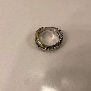 Authentic David Yurman 18k gold ring